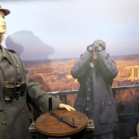 Kaarten sotamuseossa vartiotorni
