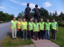 Liikennekoulutusryhmästä kuvia.