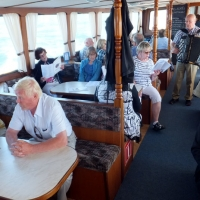 3 Laivamatkalla musiikista huolehti Pekka Rantanen